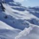 Bergpanorama im Schnee
