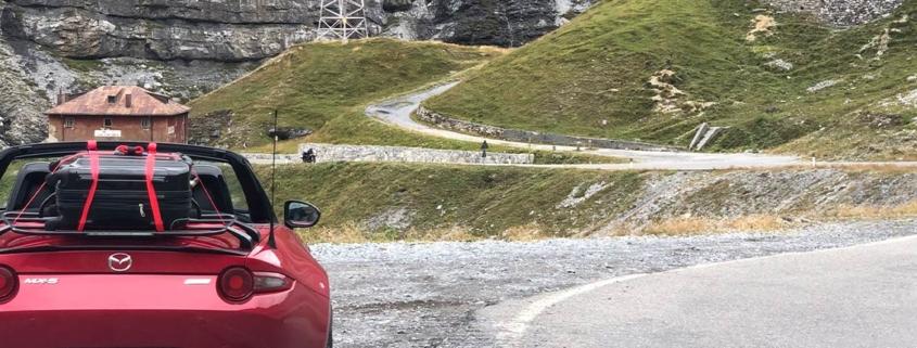 Mazda MX5 Österreich Straße